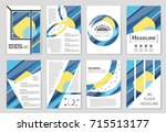 abstract vector layout... | Shutterstock .eps vector #715513177