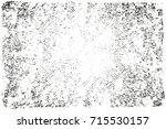 distress  dirt texture . simply ... | Shutterstock .eps vector #715530157