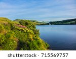 view of lake guery. lake guery... | Shutterstock . vector #715569757