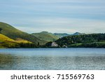 view of lake guery. lake guery... | Shutterstock . vector #715569763