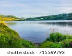 view of lake guery. lake guery... | Shutterstock . vector #715569793