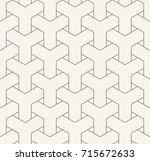 abstract seamless geometric y... | Shutterstock .eps vector #715672633