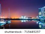 belfast  northern ireland  ... | Shutterstock . vector #715685257
