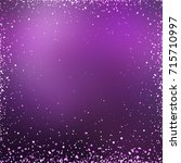 background violet glitter...   Shutterstock . vector #715710997