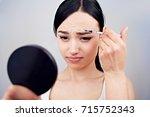 beauty injections procedure | Shutterstock . vector #715752343