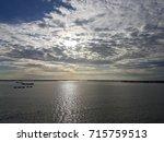 beautiful cloud  sky with sun...   Shutterstock . vector #715759513