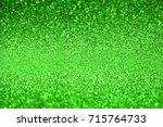 Green Glitter Texture Abstract...