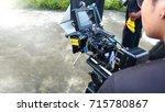 behind the scenes of movie or... | Shutterstock . vector #715780867