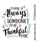 there is always someone to be... | Shutterstock .eps vector #715846633