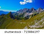 top mountain view   Shutterstock . vector #715886197