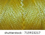 nylon chord   yellow | Shutterstock . vector #715923217