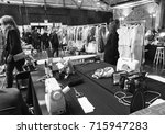 Small photo of NEW YORK, NY - September 11, 2017: A view of the atmosphere backstage before the Zadig & Voltaire Spring Summer 2018 fashion show during New York Fashion Week Women's