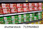 variety of instant noodle for... | Shutterstock . vector #715964863