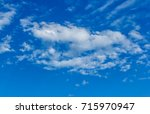 the clouds and sky landscapes... | Shutterstock . vector #715970947