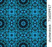 decorative geometric ornament...   Shutterstock .eps vector #716039917