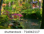 koke dera moss temple  is one... | Shutterstock . vector #716062117