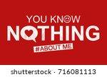 slogan graphic for t shirt | Shutterstock . vector #716081113
