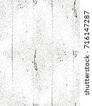 distressed overlay texture of... | Shutterstock .eps vector #716147287