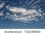 the clouds and sky landscapes... | Shutterstock . vector #716150053