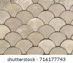 old tile texture | Shutterstock . vector #716177743