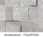 old tile texture | Shutterstock . vector #716187433