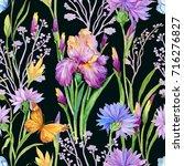 seamless pattern for print on... | Shutterstock . vector #716276827