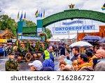 munich  germany   september 16  ...   Shutterstock . vector #716286727