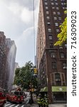 new york city  new york  ... | Shutterstock . vector #716309023