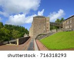 new lanark is a village on the... | Shutterstock . vector #716318293