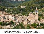 mediterranean village in the... | Shutterstock . vector #716450863