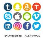 valencia  spain   september  03 ... | Shutterstock . vector #716499937