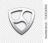 nem coin symbol isolated web... | Shutterstock .eps vector #716516563