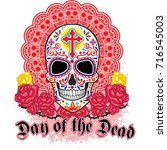 day of the dead  mexican sugar...