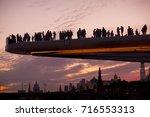 zaryadye park. the lot of... | Shutterstock . vector #716553313