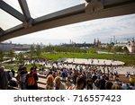 moscow   september 2017 ... | Shutterstock . vector #716557423