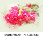 illustration of water colors...   Shutterstock . vector #716600533