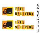 free delivery  shipping. badge  ...