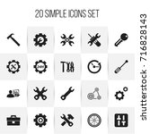 set of 20 editable toolkit...