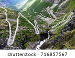 Norway Troll Road   Mountain...