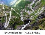 Norway Troll Road   Mountain...