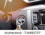 the car panel navigation | Shutterstock . vector #716882737