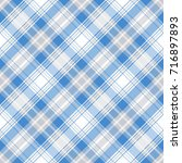 checkered seamless pattern.... | Shutterstock .eps vector #716897893
