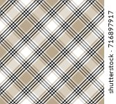 checkered seamless pattern.... | Shutterstock .eps vector #716897917