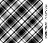 checkered seamless pattern.... | Shutterstock .eps vector #716897953
