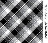 checkered seamless pattern.... | Shutterstock .eps vector #716910643
