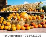 A Rustic Autumn Still Life Wit...