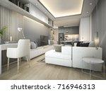 3d rendering luxury and modern... | Shutterstock . vector #716946313