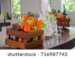 vegetables in the basket | Shutterstock . vector #716987743