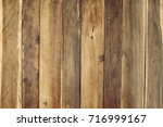 wood panel background  natural... | Shutterstock . vector #716999167