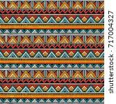 tribal seamless pattern....   Shutterstock .eps vector #717004327